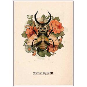 escarabajo guerrero