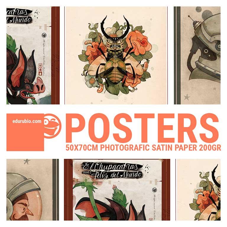 posters de Edu Rubio