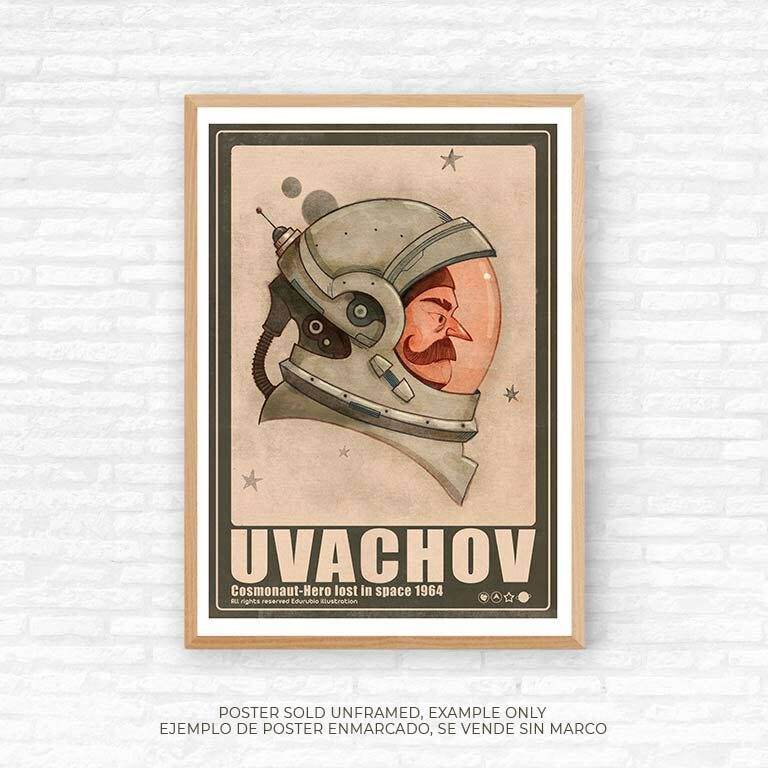 poster Uvachov 50 x 70 cm, edu Rubio